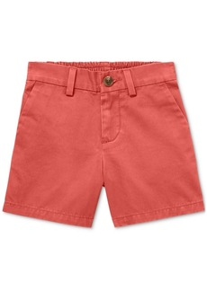 Ralph Lauren: Polo Polo Ralph Lauren Baby Boys Flat-Front Cotton Shorts