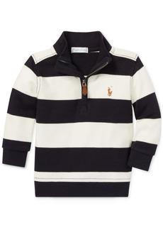 Ralph Lauren: Polo Polo Ralph Lauren Baby Boys Half-Zip Cotton Pullover