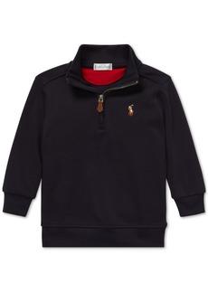 Ralph Lauren: Polo Polo Ralph Lauren Baby Boys Half-Zip Supima Cotton Pullover