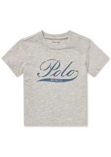 Ralph Lauren: Polo Polo Ralph Lauren Baby Boys Logo Graphic Cotton T-Shirt