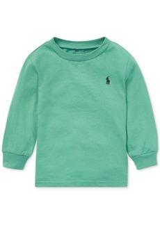 Ralph Lauren: Polo Polo Ralph Lauren Baby Boys Long-Sleeve Cotton T-Shirt