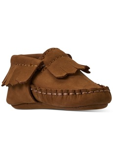 Ralph Lauren: Polo Polo Ralph Lauren Baby Boys Mickoh Moccasin Layette Crib Booties from Finish Line