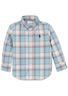 Ralph Lauren: Polo Polo Ralph Lauren Baby Boys Plaid Cotton Shirt
