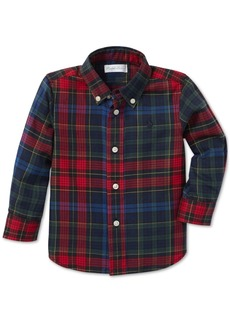 Ralph Lauren: Polo Polo Ralph Lauren Baby Boys Plaid Cotton Twill Shirt