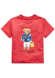 Ralph Lauren: Polo Polo Ralph Lauren Baby Boys Polo Bear Cotton Jersey T-Shirt
