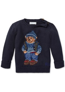 Ralph Lauren: Polo Polo Ralph Lauren Baby Boys Polo Bear Cotton Sweater