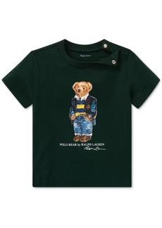 Ralph Lauren: Polo Polo Ralph Lauren Baby Boys Polo Bear Cotton T-Shirt