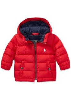 Ralph Lauren: Polo Polo Ralph Lauren Baby Boys Quilted Ripstop Down Jacket