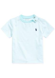 Ralph Lauren: Polo Polo Ralph Lauren Baby Boys Striped Cotton-Blend T-Shirt
