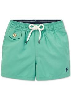 Ralph Lauren: Polo Polo Ralph Lauren Baby Boys Traveler Twill Swim Trunks