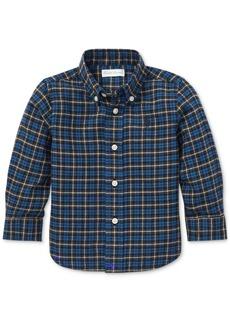 Ralph Lauren: Polo Polo Ralph Lauren Baby Boys Twill Plaid Cotton Shirt
