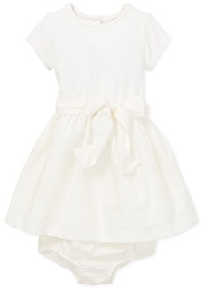 Ralph Lauren: Polo Polo Ralph Lauren Baby Girls Fit & Flare Dress