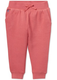 Ralph Lauren: Polo Polo Ralph Lauren Baby Girls Fleece Jogger Pants