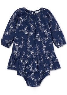 Ralph Lauren: Polo Polo Ralph Lauren Baby Girls Floral-Print Dress