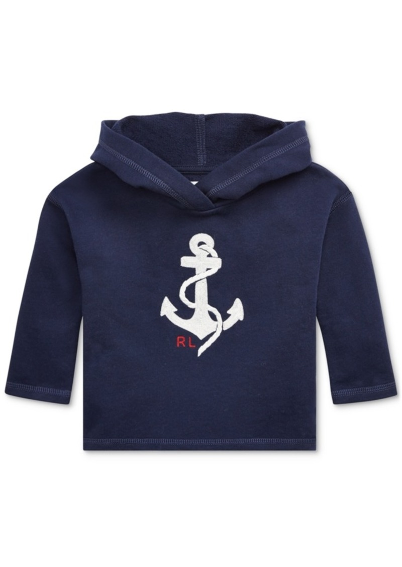 Ralph Lauren: Polo Polo Ralph Lauren Baby Girls Graphic French Terry Hoodie