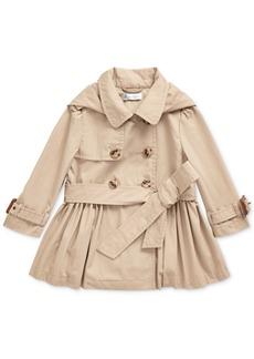 Ralph Lauren: Polo Polo Ralph Lauren Baby Girls High Density Cotton Trench Coat