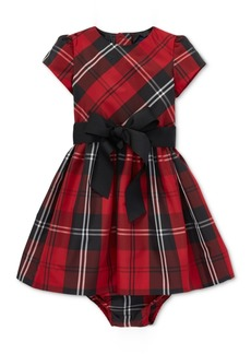 Ralph Lauren: Polo Polo Ralph Lauren Baby Girls Plaid Dress