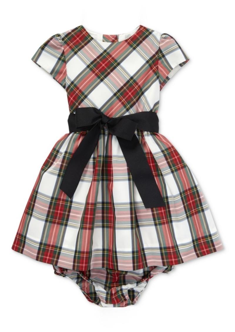 54663bdce2 Polo Ralph Lauren Baby Girls Plaid Dress