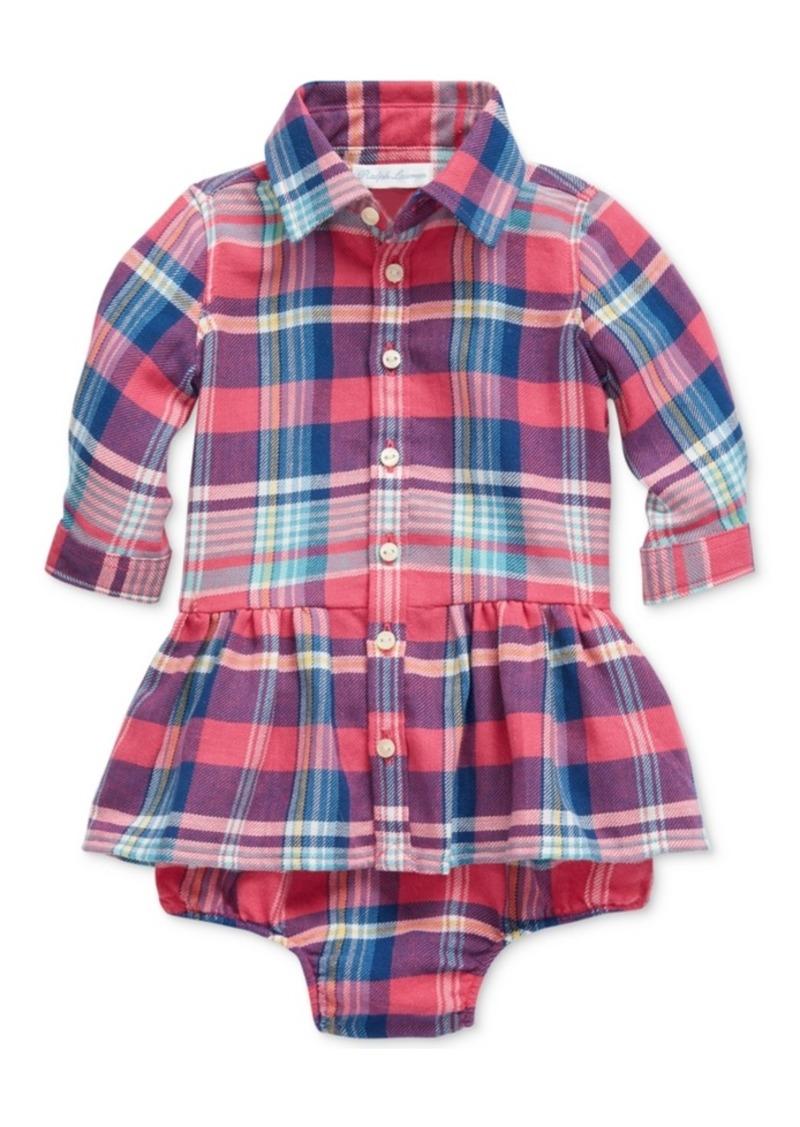 Ralph Lauren: Polo Polo Ralph Lauren Baby Girls Plaid Shirtdress