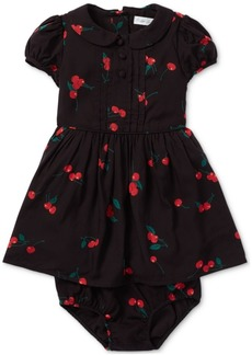 Ralph Lauren: Polo Polo Ralph Lauren Baby Girls Printed Fit & Flare Dress