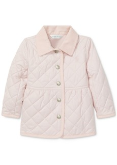 Ralph Lauren: Polo Polo Ralph Lauren Baby Girls Quilted Barn Jacket