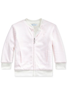 Ralph Lauren: Polo Polo Ralph Lauren Baby Girls Reversible Sherpa Jacket