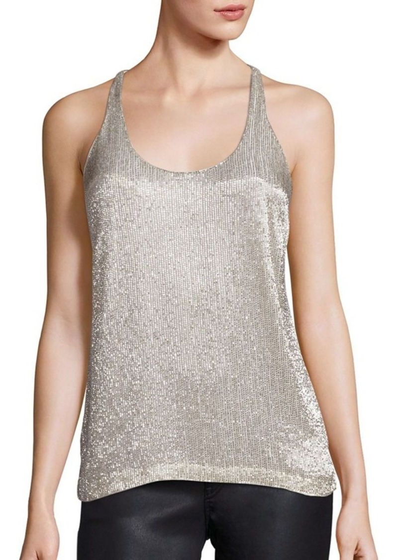 Polo Ralph Lauren Beaded Racerback Tank Top