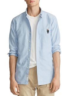 Ralph Lauren Polo Polo Ralph Lauren Bear Classic Fit Oxford Shirt