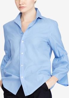 Ralph Lauren: Polo Polo Ralph Lauren Bell-Sleeve Cotton Shirt