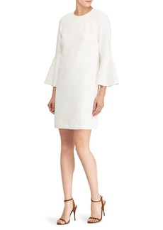 Ralph Lauren: Polo Bell-Sleeve Sheath Dress