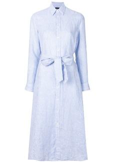 Polo Ralph Lauren belted shirt dress - Blue