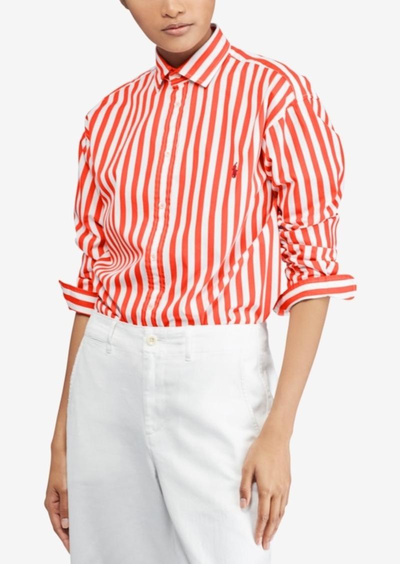 5dbf46f0 Ralph Lauren: Polo Polo Ralph Lauren Bengal-Striped Cotton Shirt ...