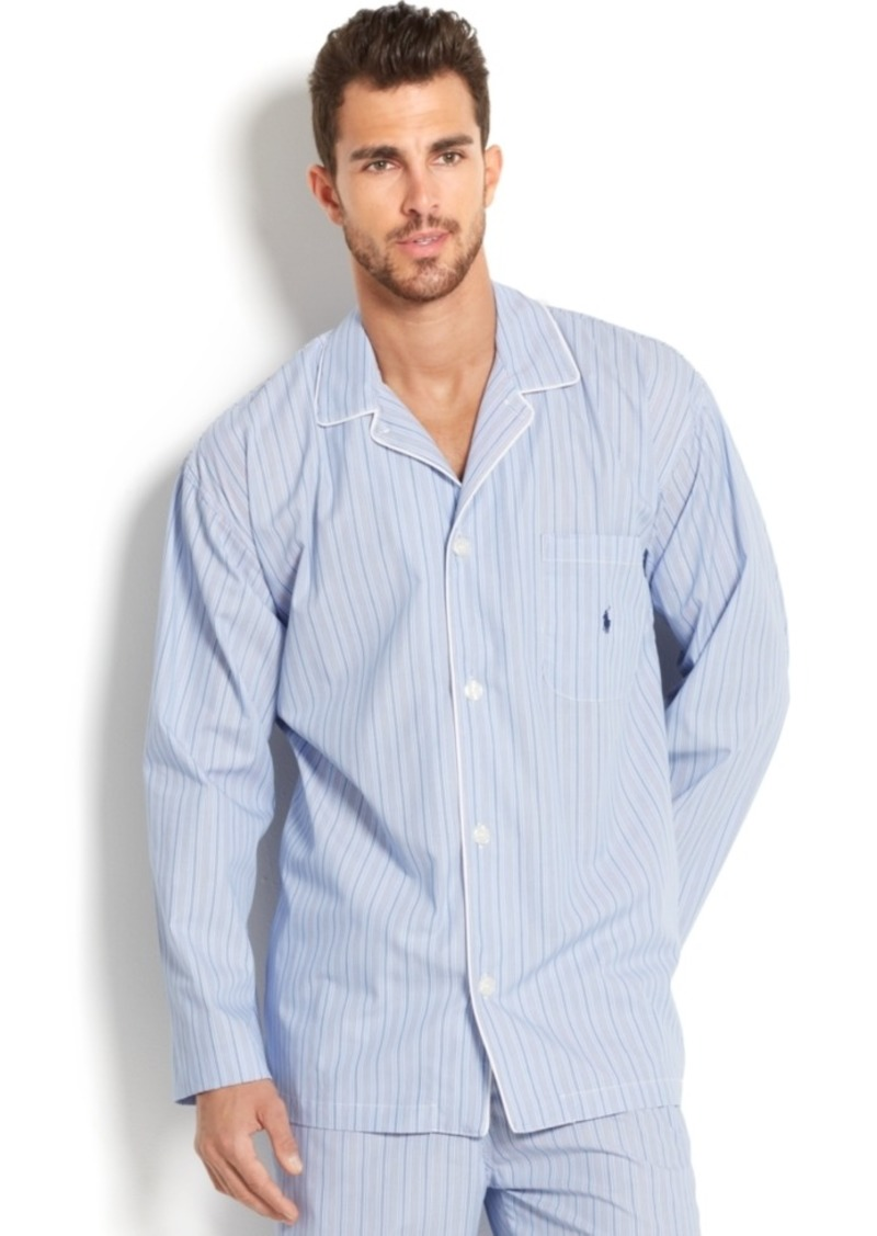 Men's And Ralph Lauren Polo Pajama Andrew Blue Stripe Top Big Tall trxQdBsCh