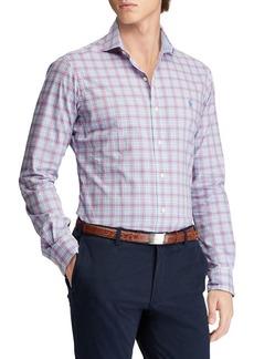 Ralph Lauren Polo Polo Ralph Lauren Big and Tall Classic-Fit Plaid Cotton Button-Down Shirt