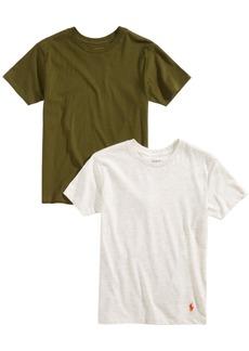 Ralph Lauren: Polo Polo Ralph Lauren Big Boys 2-Pk. Cotton Crew-Neck T-Shirts