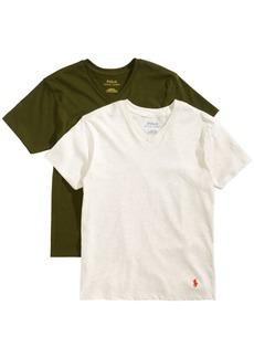 Ralph Lauren: Polo Polo Ralph Lauren Big Boys 2-Pk. Cotton V-Neck T-Shirts