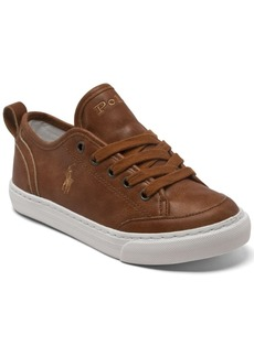 Ralph Lauren: Polo Polo Ralph Lauren Big Boys Asher 2 Casual Sneakers from Finish Line