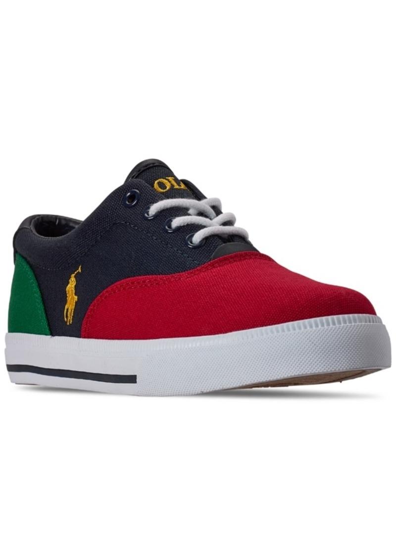 Ralph Lauren: Polo Polo Ralph Lauren Big Boys Vaughn Ii Casual Sneakers from Finish Line