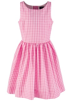 b8cd8f6df3f Ralph Lauren  Polo Polo Ralph Lauren Big Girls  Checkered Fit-and-Flare