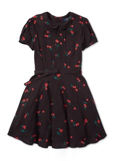 Ralph Lauren: Polo Polo Ralph Lauren Big Girls Cherry-Print Dress