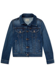 Ralph Lauren: Polo Polo Ralph Lauren Big Girls Denim Trucker Jacket