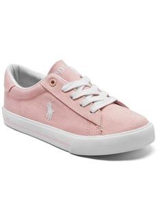 Ralph Lauren: Polo Polo Ralph Lauren Big Girls Easten Ii Casual Sneakers from Finish Line