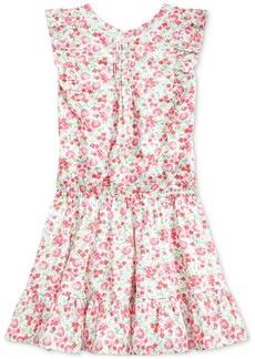 Ralph Lauren: Polo Polo Ralph Lauren Big Girls Floral Cotton Poplin Dress