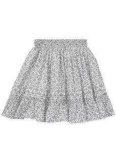 Ralph Lauren: Polo Polo Ralph Lauren Big Girls Floral-Print Cotton Skirt