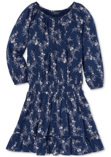 Ralph Lauren: Polo Polo Ralph Lauren Big Girls Floral-Print Gauze Boho Dress