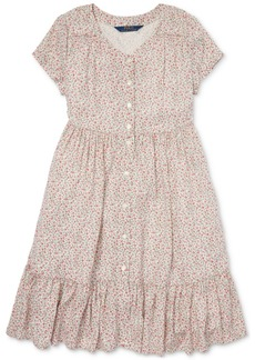 Ralph Lauren: Polo Polo Ralph Lauren Big Girls Floral-Print Woven Dress