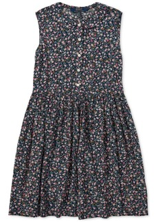 Ralph Lauren: Polo Polo Ralph Lauren Big Girls Floral Shift Dress