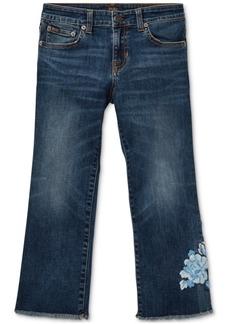 Ralph Lauren: Polo Polo Ralph Lauren Big Girls Kick-Flare Crop Jeans