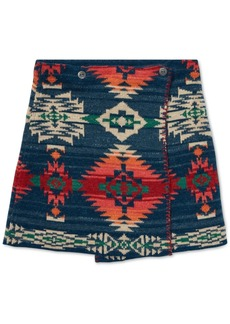 Ralph Lauren: Polo Polo Ralph Lauren Big Girls Reversible Jacquard Cotton Wrap Skirt