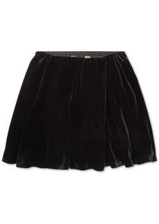 Ralph Lauren: Polo Polo Ralph Lauren Big Girls Velvet A-Line Skirt
